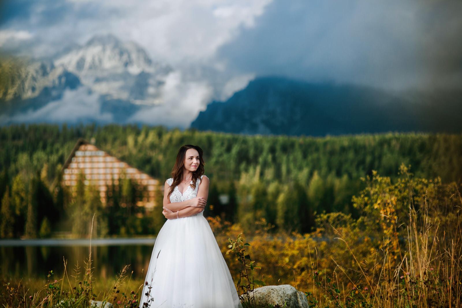 I + M = Sesja ślubna nad Jeziorem Szczyrbskim 2