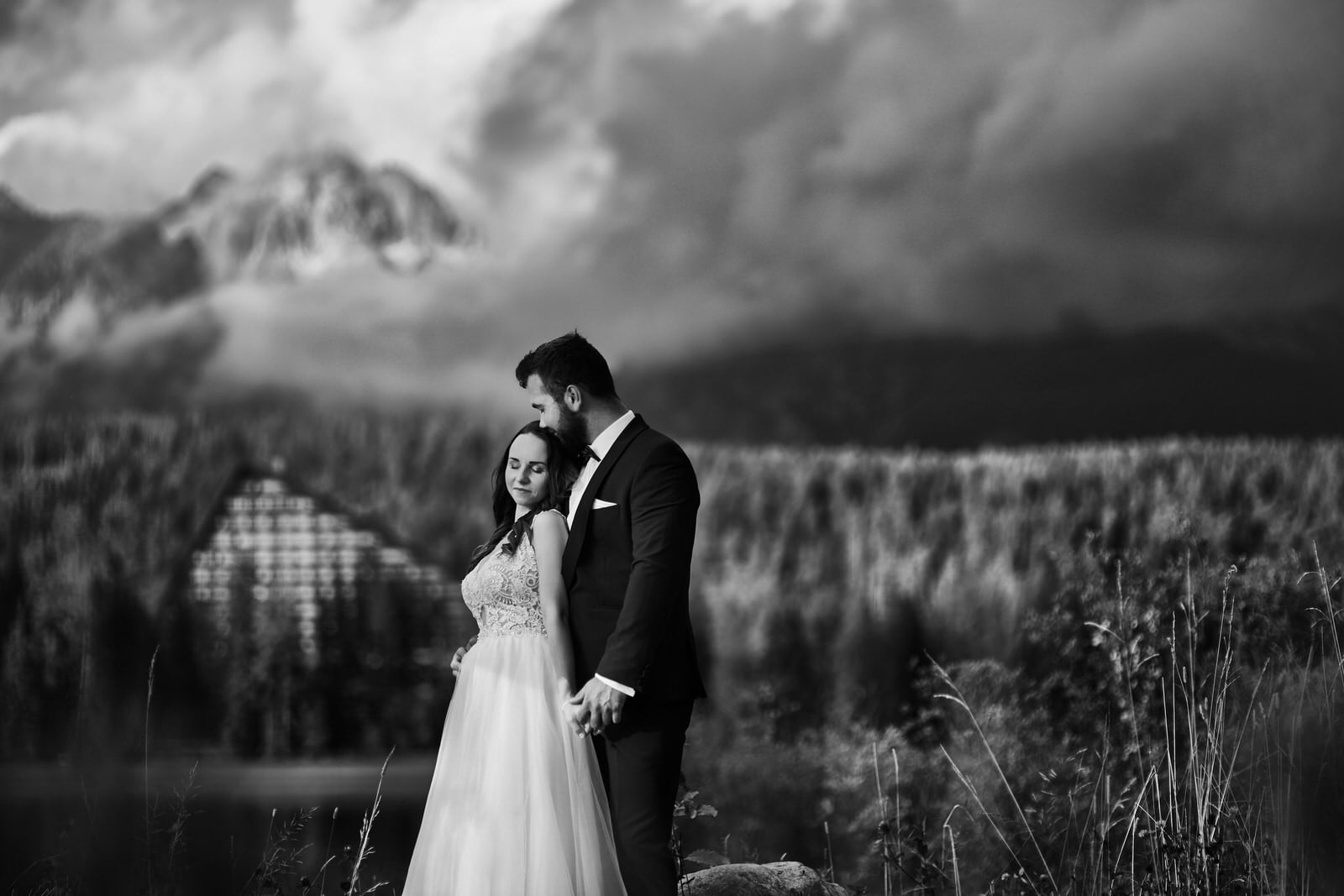 I + M = Sesja ślubna nad Jeziorem Szczyrbskim 3