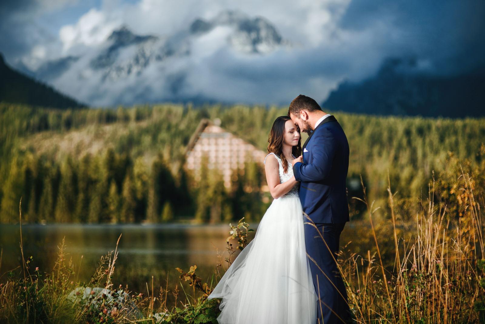 I + M = Sesja ślubna nad Jeziorem Szczyrbskim 4