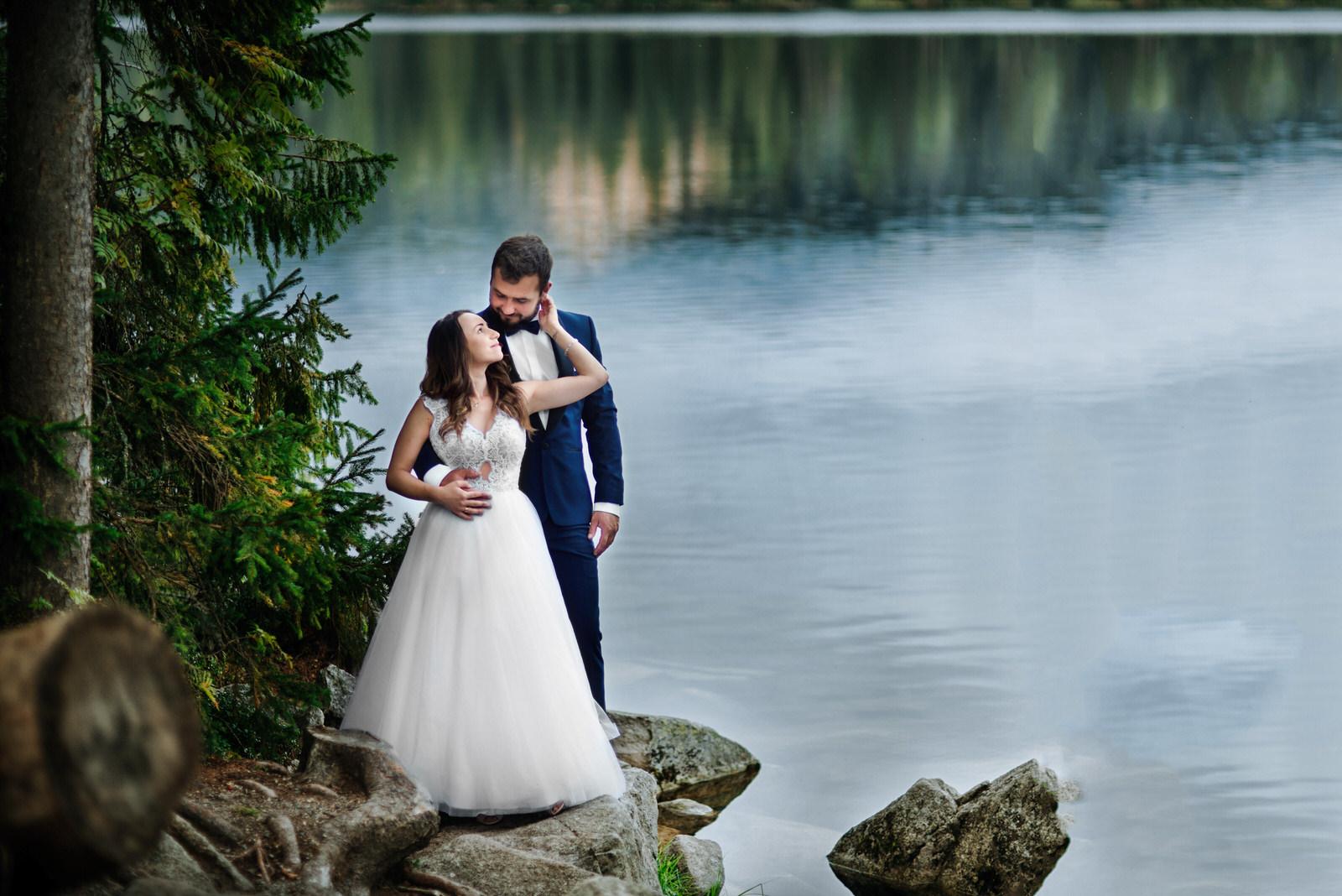 I + M = Sesja ślubna nad Jeziorem Szczyrbskim 10