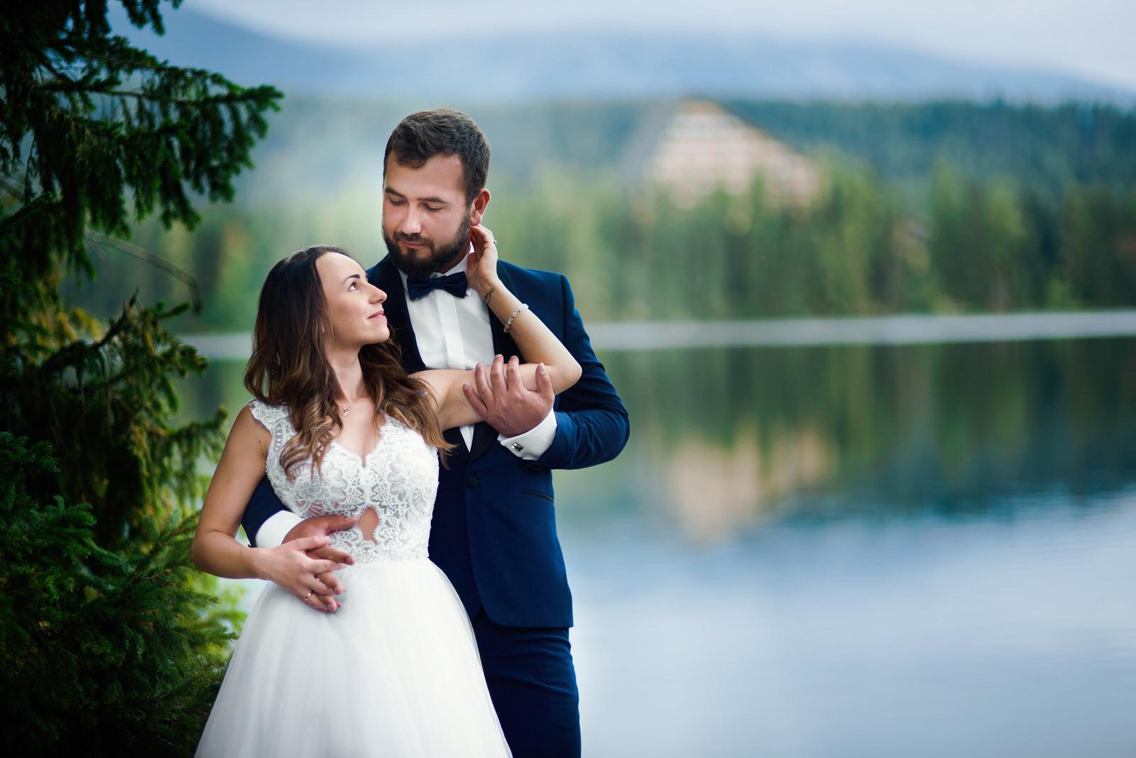 I + M = Sesja ślubna nad Jeziorem Szczyrbskim 11