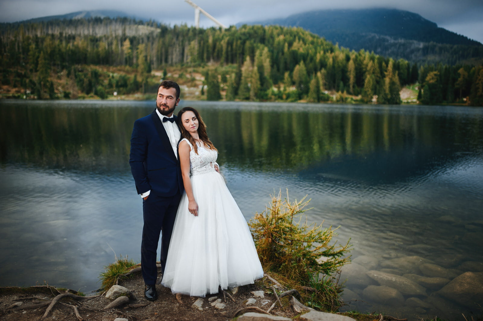 I + M = Sesja ślubna nad Jeziorem Szczyrbskim 12