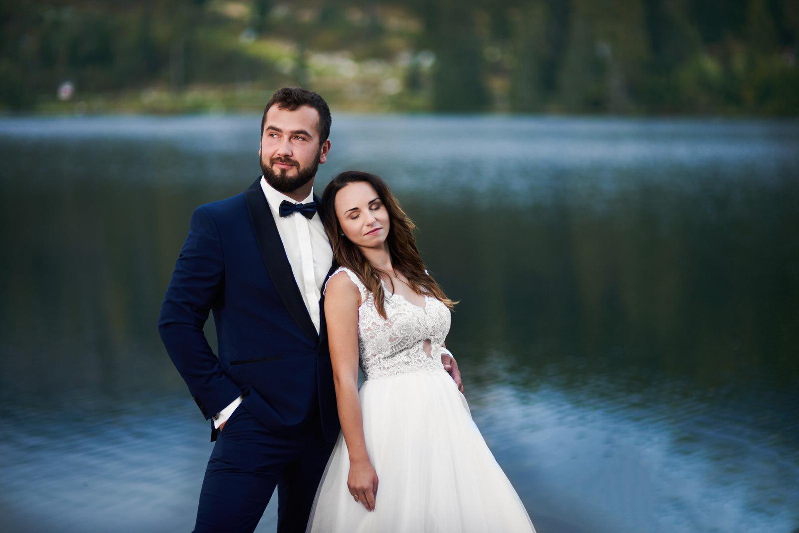 I + M = Sesja ślubna nad Jeziorem Szczyrbskim 14