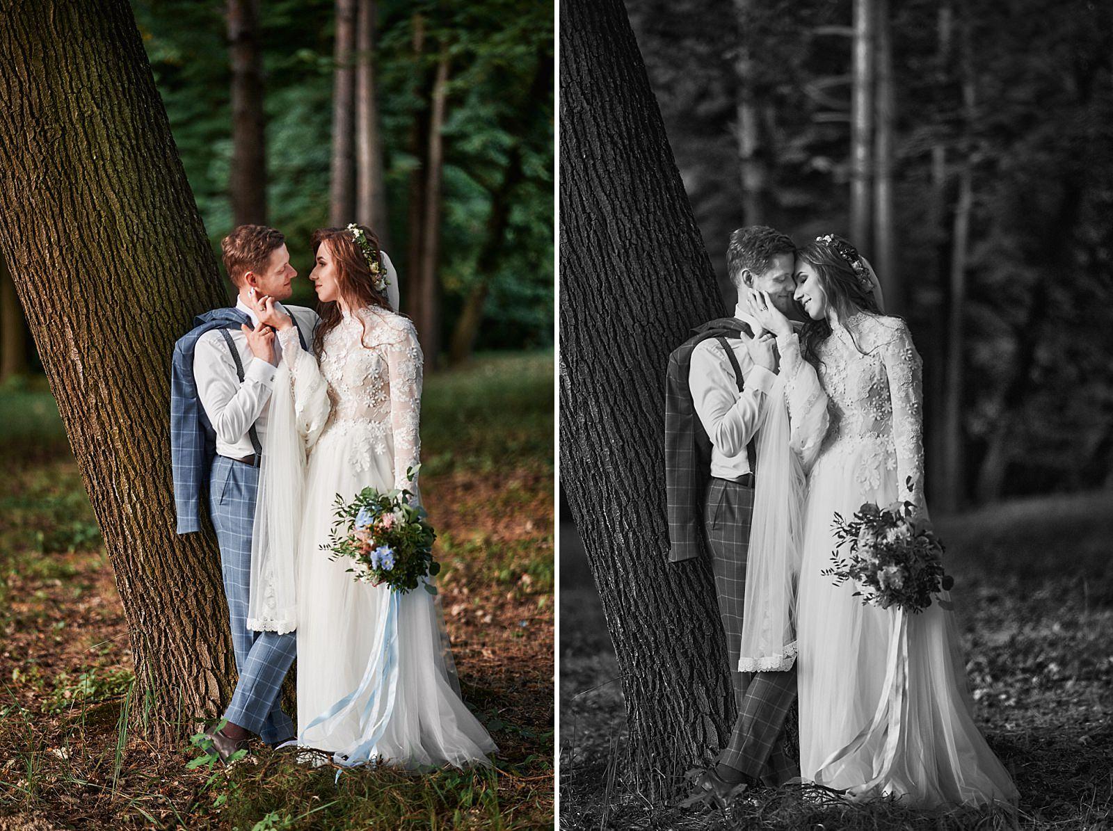 jaki garnitur do rustykalnego wesela